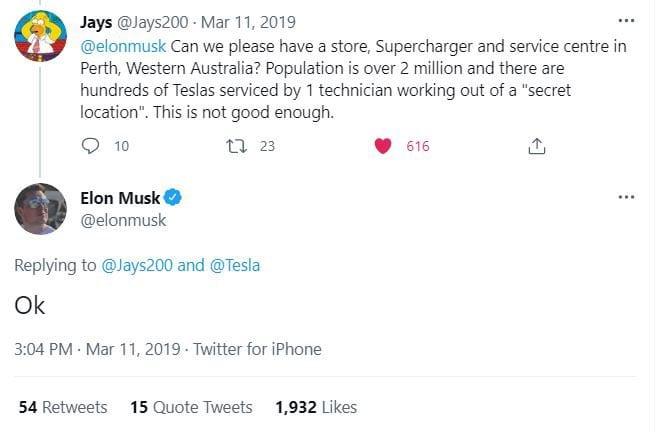 Elon Says OK